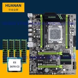 Computer di FAI DA TE di marca HUANAN ZHI sconto X79 scheda madre con M.2 slot CPU Intel Xeon E5 2670 C2 2.6 GHz RAM 32G (4*8G) 1600 RECC
