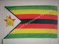 Флаг Зимбабве 150X90 см (3x5FT) 115 г 100d полиэстер двойной сшитый Высокое качество Бесплатная доставка