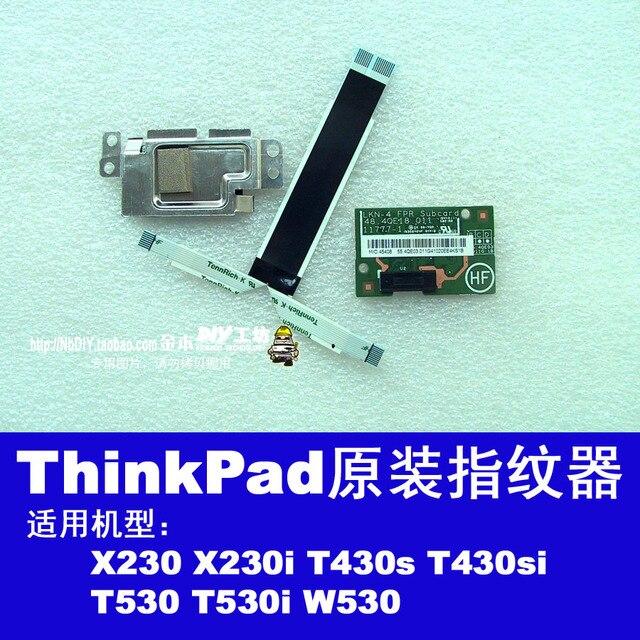 Para thinkpad t530 w530 t430s x230i x230 x1 de carbono huella digital bordo