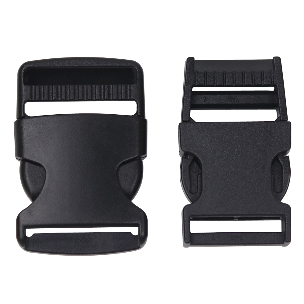 """1/""""Woven Tape Sewing Side Release Buckle for Backpack Straps Multifunction Detach"""