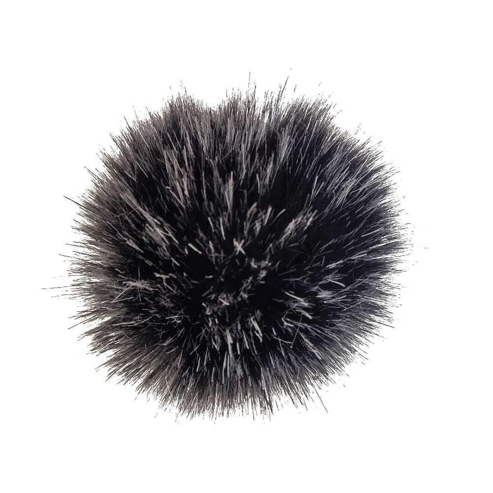 12 centímetros Faux Fur Bola Pompom DIY Tricô Lenços Chapéu Sapatos Acessório Chaveiro