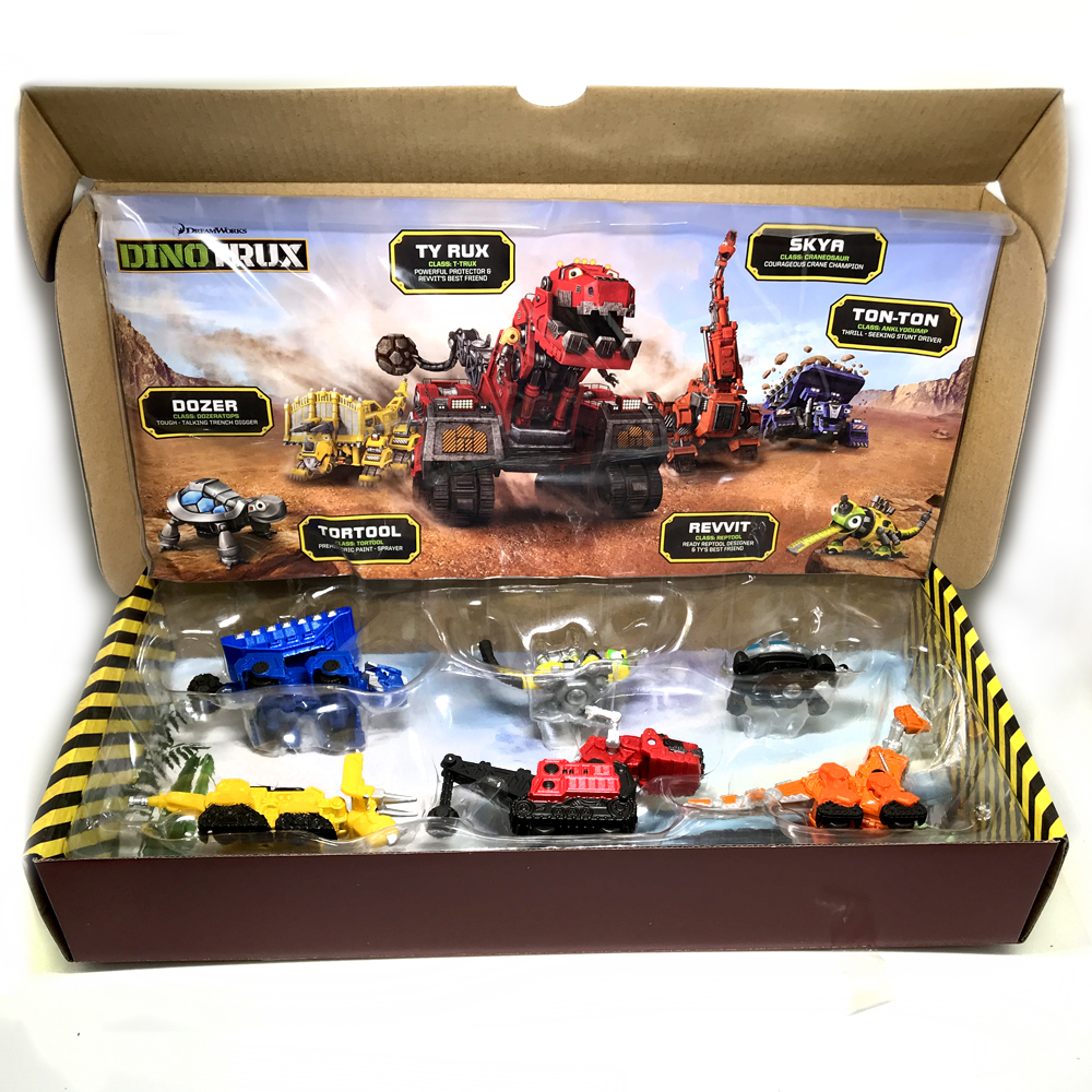 Dinotrux Dinosaur Truck Removable Dinosaur Toy Car Mini Models New Children's Gifts Toys Dinosaur Models Mini child Toys sc eleka dinosaur static models spinosaurus s14521