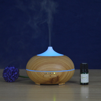New Arrived Ultrasonic Fragrance Essential Oil Incense Burner Cool Mist Humidifier Aromatherapy Diffuser Purifier