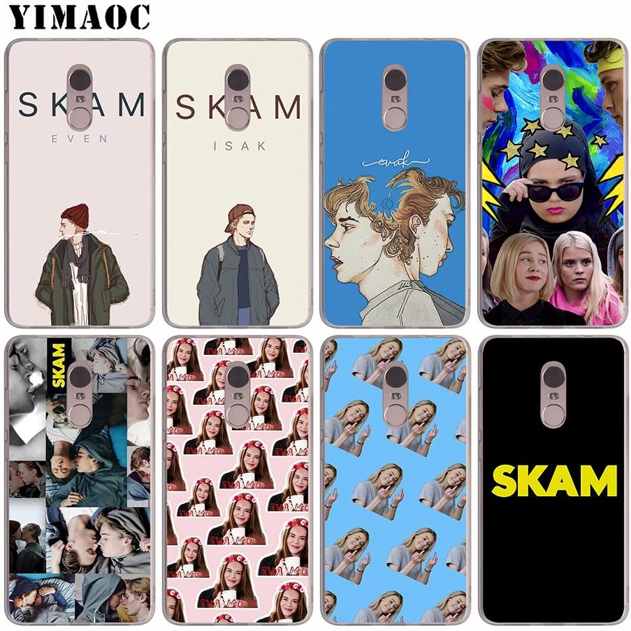2019 Fashion Yimaoc Skam Soft Silicone Case For Xiaomi Mi A1 A2 8 Lite F1 Se 6 Mix 2s Tpu Cover