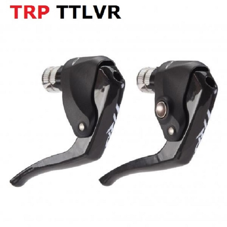 discount sale original TRP TTLVR carbon brake levers Time Trial TT Road frame bicycle levers carbon bike lever 2pcs цена