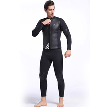 C93 2MM rubber diving suits warm winter swimming long sleeves shirt swimsuit thick jellyfish service men