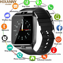 Smart Watch Digital Men Watch For Apple iPhone Samsung Android Mobile Phone Bluetooth SIM TF Card Camera PK Dz09 GT08 Z60(China)