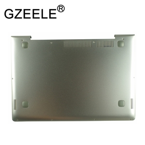 GZEELE NEW for Lenovo U330 U330P U330T Laptop Bottom Cover Base Shell Touch 90203121 silver grey color lower case