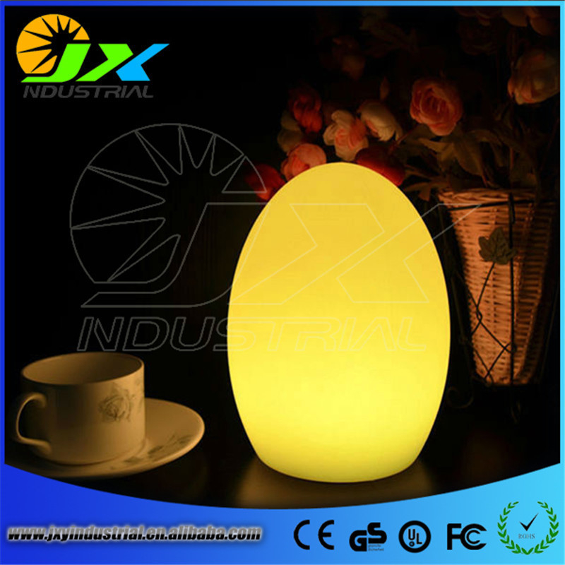 Mini Light Egg Shape rechargeable LED table lamps D14*H19cm Bar Furniture Set free shipping 1pc Dropshipping Support
