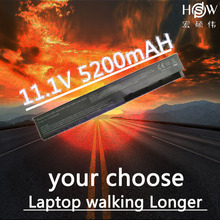 HSW 6cells Laptop Battery For Asus A31-X401 A32-X401 A41-X401 A42-X401 X301 X301A X301U X401A X401U X501 X501A X501U  bateria