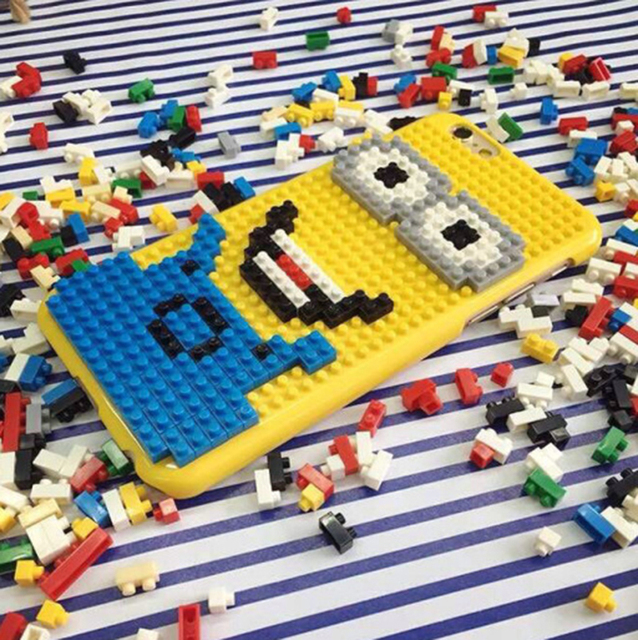Legos Cartoon Cover for iPhone