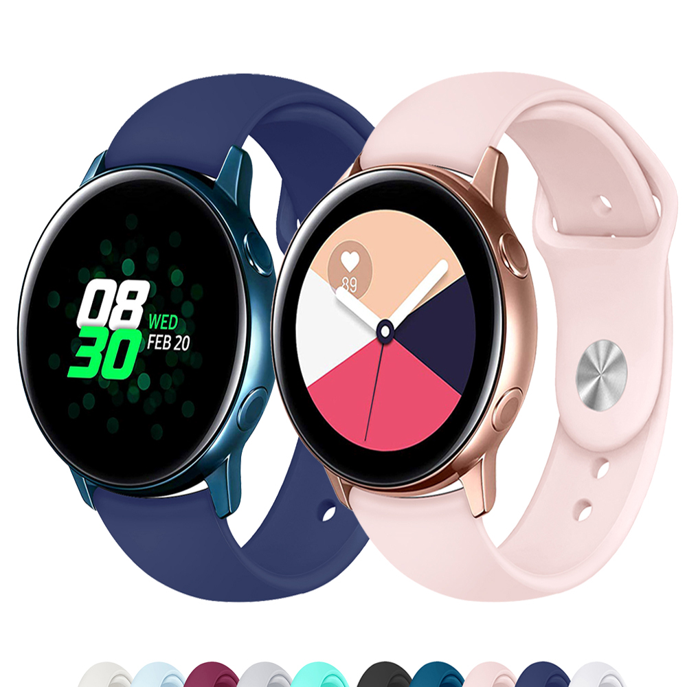Galaxy Watch Active Band For Samsung Galaxy Watch 42mm 20mm Watch Strap Gear Sport S2 Huawei Watch 2 Pro Amazfit Bip Accessories