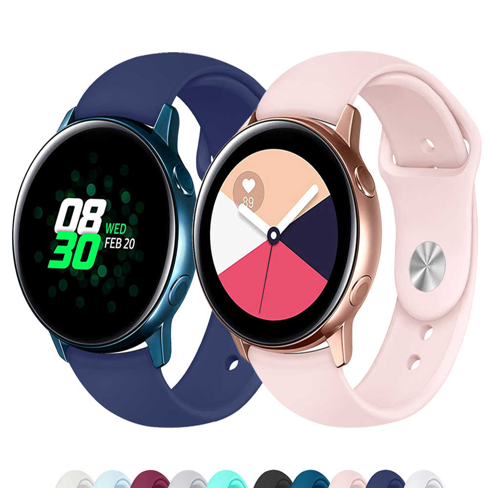 Galaxy Watch Actieve 2 Band Voor Samsung Galaxy Watch 42 Mm 20 Mm Horloge Band Gear Sport Huawei Horloge 2 Pro Amazfit bip Accessoires
