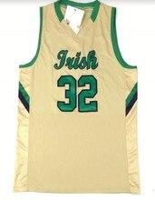 879c0aaec Notre Dame Fighting Irish Equipe 32 JOGADOR Bordado Camisa de Basquete  Personalizar qualquer número e nome Costurado Jerseys