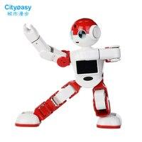 High end Интеллектуальный робот гуманоид голос Управление робот приложение Управление программирования охранных приветствовать гостей подар