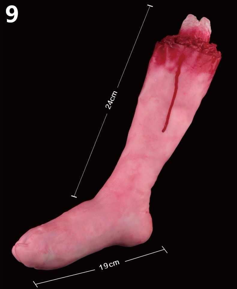 Хит продаж, сломанные руки, сломанные ноги, кровоточащие ноги для рук, реквизит для Хэллоуина, декорированные товары для Хэллоуина 5ZHH023