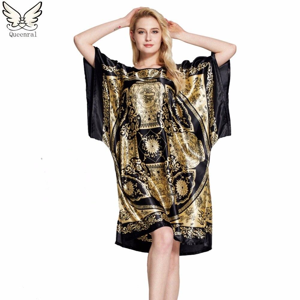 Sleepwear women Nightgowns nightwear Pyjama Women home ...