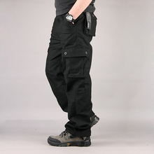 Men s Cargo Pants Casual Mens Pants Multi Pocket Military Overall Men Sweatpants Tactical Trousers Pantalon