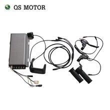 Цветной дисплей TFT спидометр и контроллер Sabvoton 150A SVMC72150 с для двигателя QS 3000 w