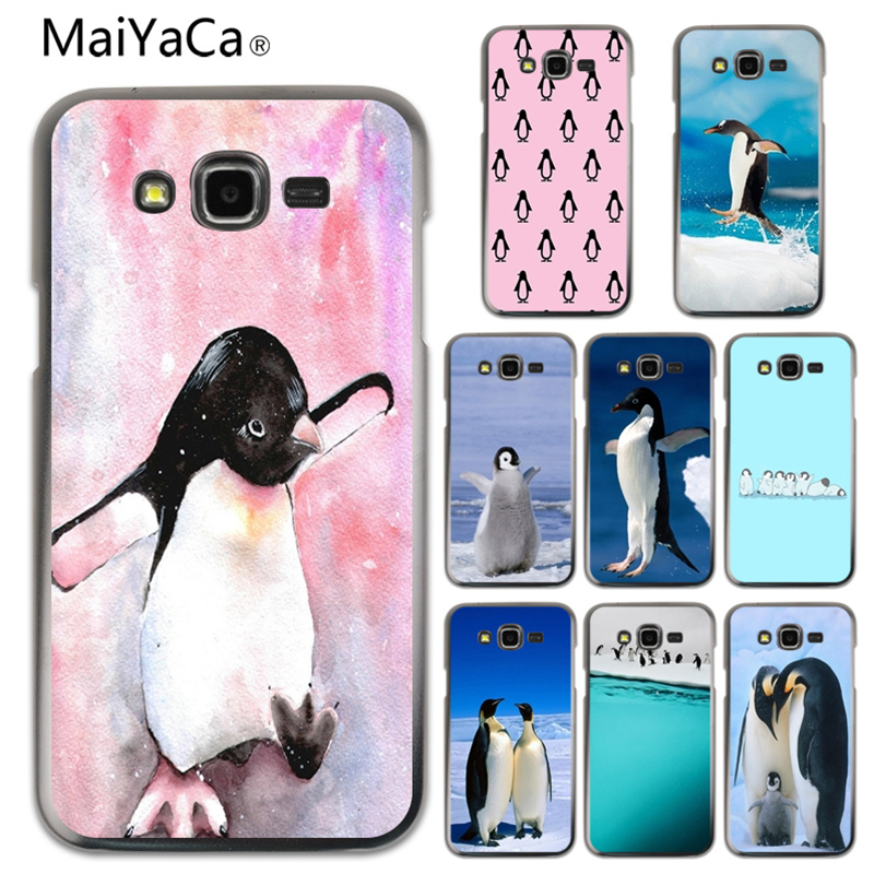 MaiYaCa Baby Penguin cute Newest Super Cute Phone Cases For Samsung Galaxy J120 510 710 J7 J5 Mobile phone cover