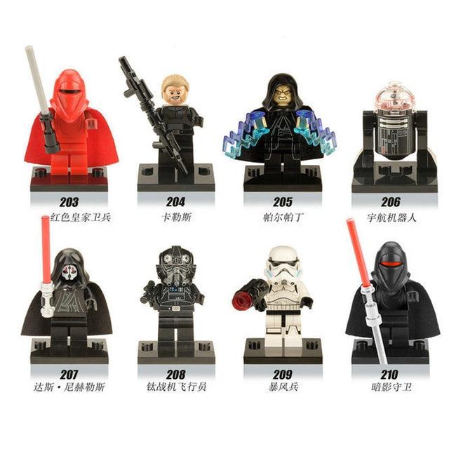 8pcs/set The Star Wars Darth Nihilus Series DC Assembling