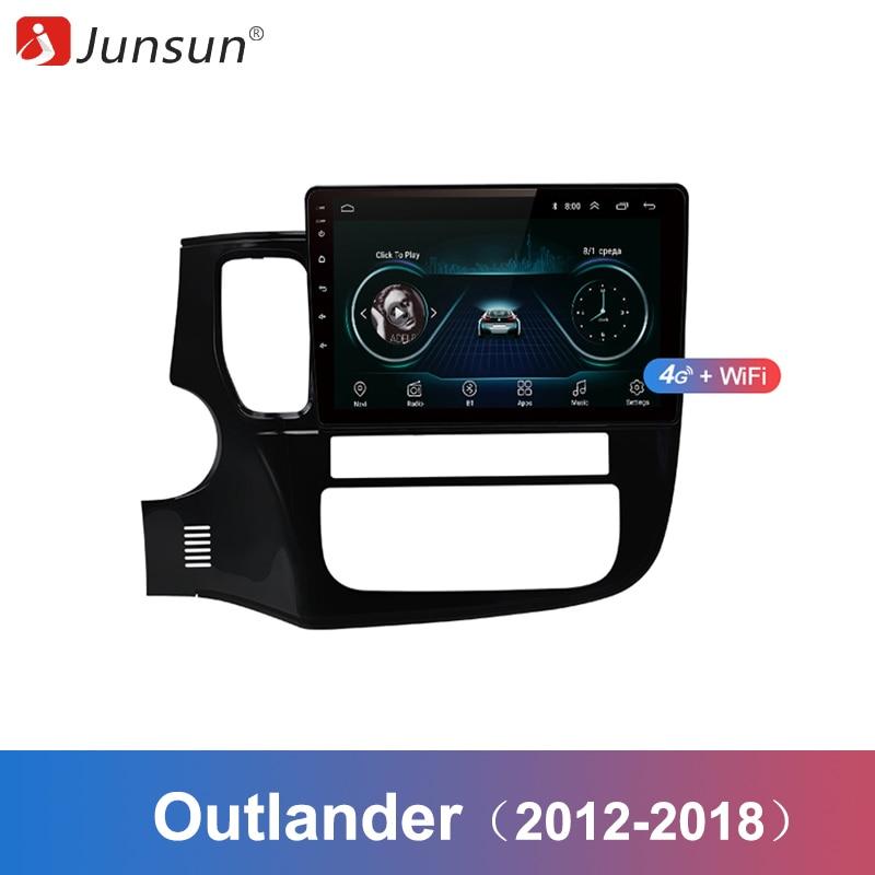 Junsun 2 Din Multimedia Video Player Android 8 1 GPS Navigation Radio WIFI OBD2 For Mitsubishi