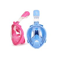 Anti Fog Full Face Safety Mask Swimming Scuba Watersport Underwater Diving Snorkeling Full dry Goggles Mask For Kids