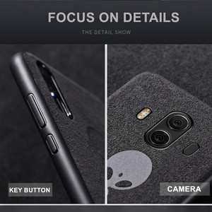 Image 3 - Luxury Suede Leather Case For Huawei P20 P30 Mate 20 Pro Matte Soft Cover Nova 3 3i 4 5 Honor 10 Lite 20 8X Housing Shell Coque