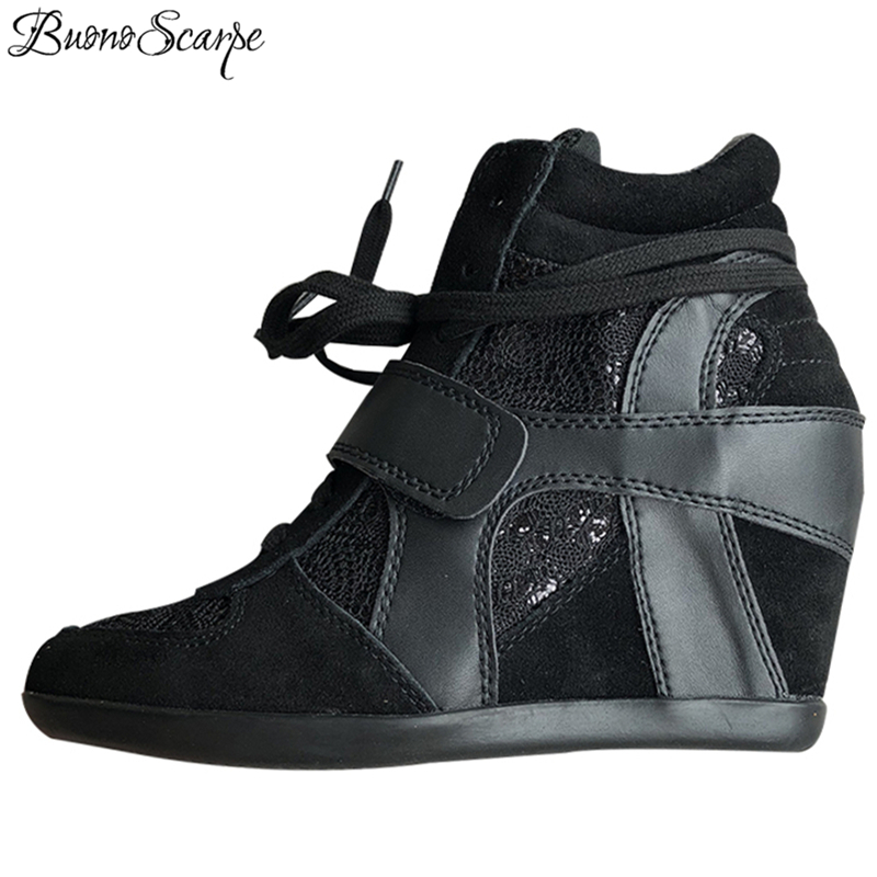 NEW Height Increasing shoes for women with Real Leather