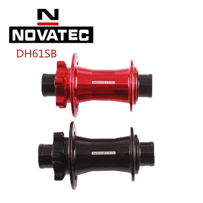 Novatec dh61sb a avant moyeu 20 mm Black