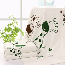 100% Bamboon Fiber Soft Newborn Baby Bath Towel Swaddle Blankets bed sheets blanket Play Mat Gift Y615