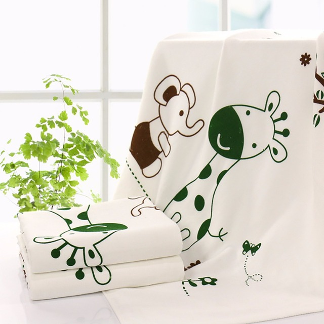 100% De Fibra Bamboon Suave Toalla de Baño Del Bebé Recién Nacido Swaddle Mantas sábanas manta Juego Estera Regalo Y615