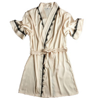 New Arrival Silk Bathrobe Women Satin Kimono Robes For Women Robes Bridesmaids Long Kimono Robe Bride