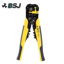 цена на 3 in 1 Adjusting Automatic Cable Wire Stripper Cutter Crimper Multifunctional TAB Terminal Crimping Stripping Plier Hand Tools