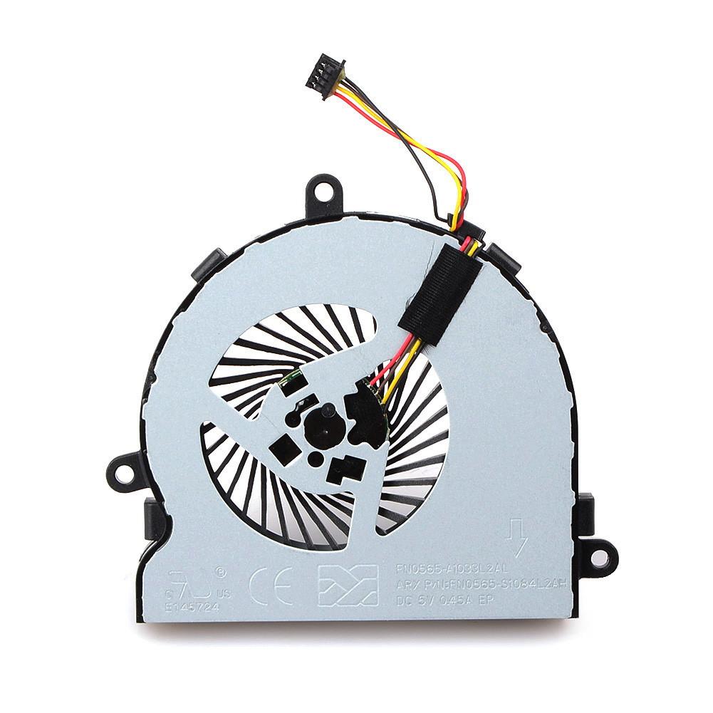 Image 2 - 1pcs 4 Pin Notebook Computer Cooler Fans Laptops Replacement Accessories For  HP 15 AC Notebook Cooling Fans-in Fans & Cooling from Computer & Office