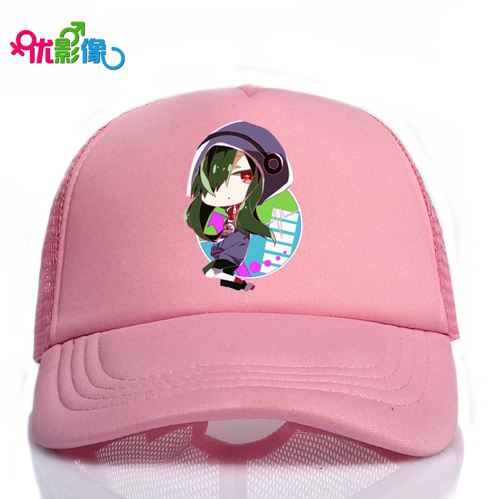 Ivyye 1pcs Project Pink Fashion Anime Baseball Cap Casual Snapback Caps Cotton Sport Ball Hats Sun Hat Unisex New Gift To Ensure Smooth Transmission Men's Hats Apparel Accessories