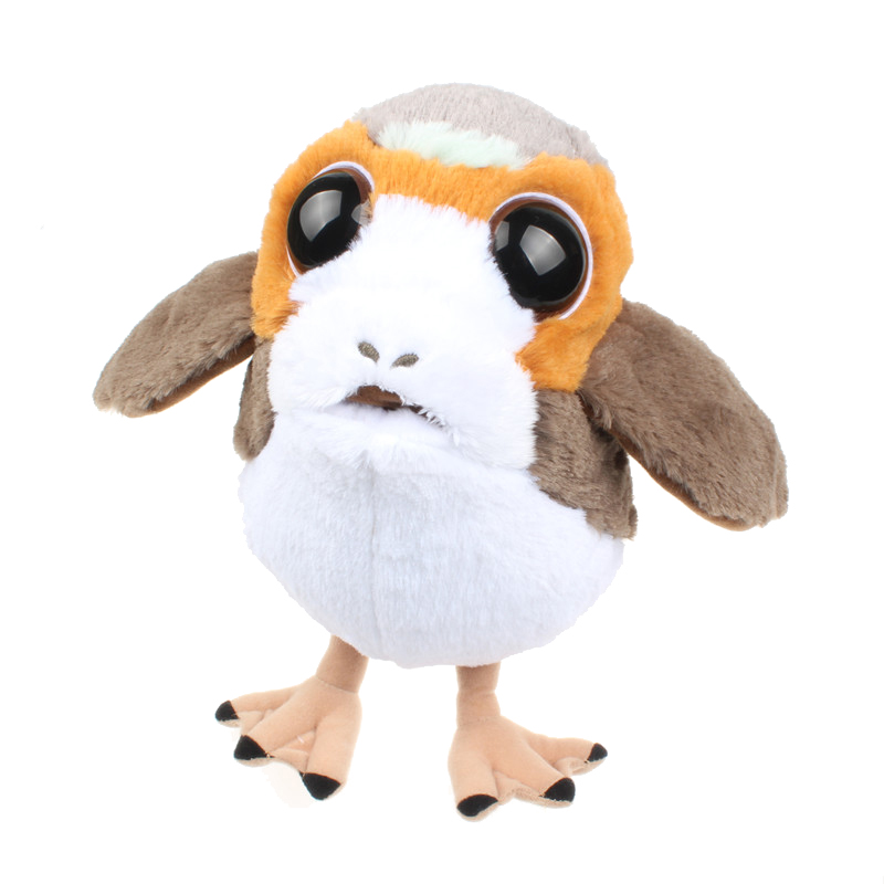 1pc The Last Jedi Porg Plush Toys Baby Cuddle Porg Bird Peluche Doll Toys For Kids Birthday Gifts