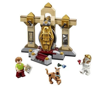 Lecgos Bela Scooby Doo Mummy blocks Museum  figures Building blocks Compatible With Lecgos Toy Kid xmas Gift 499pcs lecgos new star wars at dp building blocks toys gift rebels animated tv series compatible with lecgos