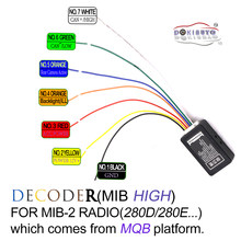 MIB высокий декодер 5GG035280D/E CAN портал эмулятор для платформы MQB