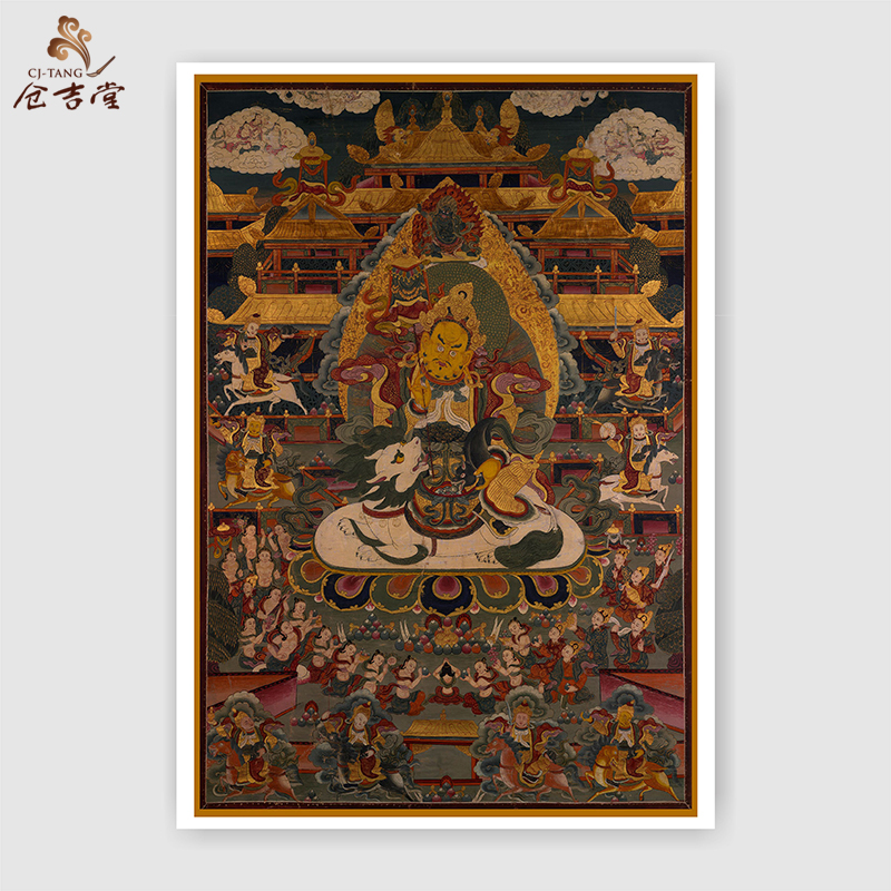 US $8 12 |Traditional religious Thangka painting porch murals Buddha  statues reproductions Frameless paintings free-in Painting & Calligraphy  from