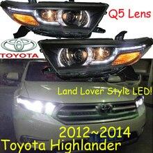 Highlander headlight, 2012 ~ 2014,2008 ~ 2011, 무료 배송! 하이랜더 안개등, 2 마력/대 + 2pcs 안정기, 하이랜더 드라이버 라이트, 하이랜더