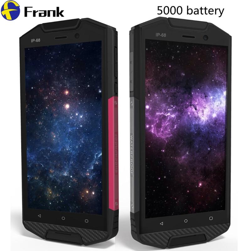 Цена за Оригинал rungee водонепроницаемый телефон противоударный смартфон ip68 5000 мАч аккумулятор android 6.0 четырехъядерных процессоров 4 г lte 2 ГБ rm 16 ГБ rom 8mp