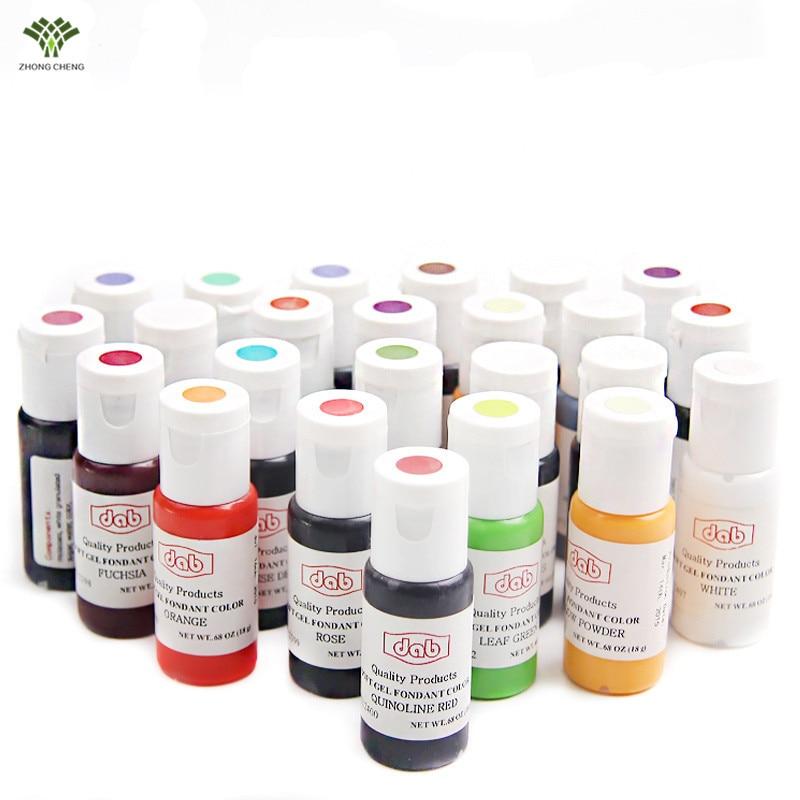 1 PCS 18g Edible Pigment Color Paste Food Color Kit Cake Decorating ...