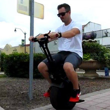 Hot-selling Big One Wheel Electric Unicycle 18inch Wheel 60v 35km/h Self Balancing Electric Motorcycle