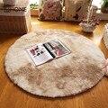 Большой Мягкий Лохматый круглый ковер для гостиной  теплый плюшевый пол  пушистые коврики  детская комната  искусственный мех  толстые барх...
