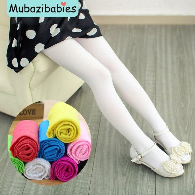 White pantyhose tights