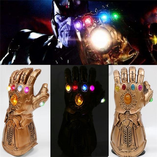 1 1 avengers infinity war infinity gauntlet thanos led gloves