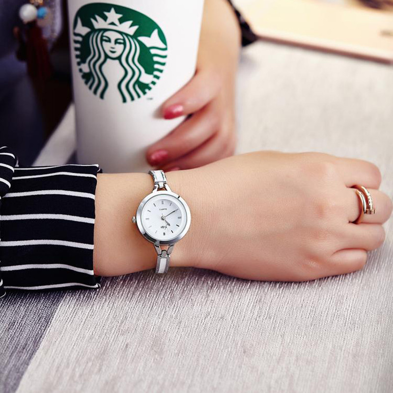 Korean Style Ladies Quartz Watches Fashion Women Wristwatches Bracelet Bangle Luxury Best Gift Fit Party Women Dress reloj mujer 3