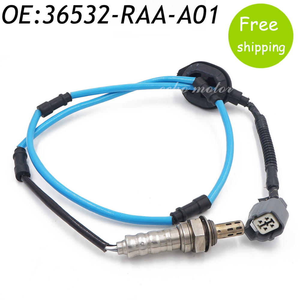 New O2 Oxygen Air Fuel Ratio Sensor 2003-2007 For Honda Accord 2.4L L4 36532-RAA-A01 36532RAAA01,36532RAAA02,36532RAAA11 31170 raa a01 belt tensioner fit for honda