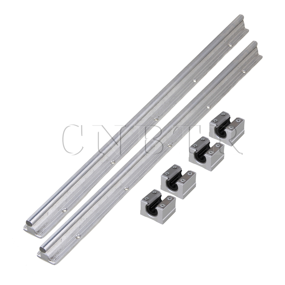 6x CNBTR10mm Shaft 50cm Linear Bearing Rail w/ Open CNC Linear Bearing Slide [tool] 2017 exo group exobiology a concert tour the official who glo sticks with model lu han can is around light stick 0307